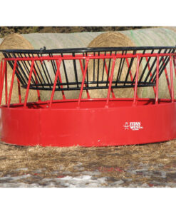 Bull Amp Buffalo Round Bale Feeder 8 6 Diameter Western