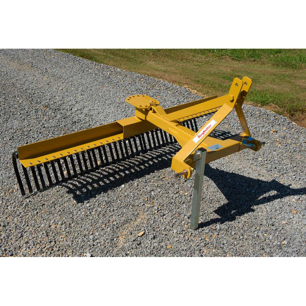Home / EQUIPMENT / King Kutter Equipment & Tools - KING KUTTER – 72″ LANDSCAPE YARD RAKE – Western Ranch Supply