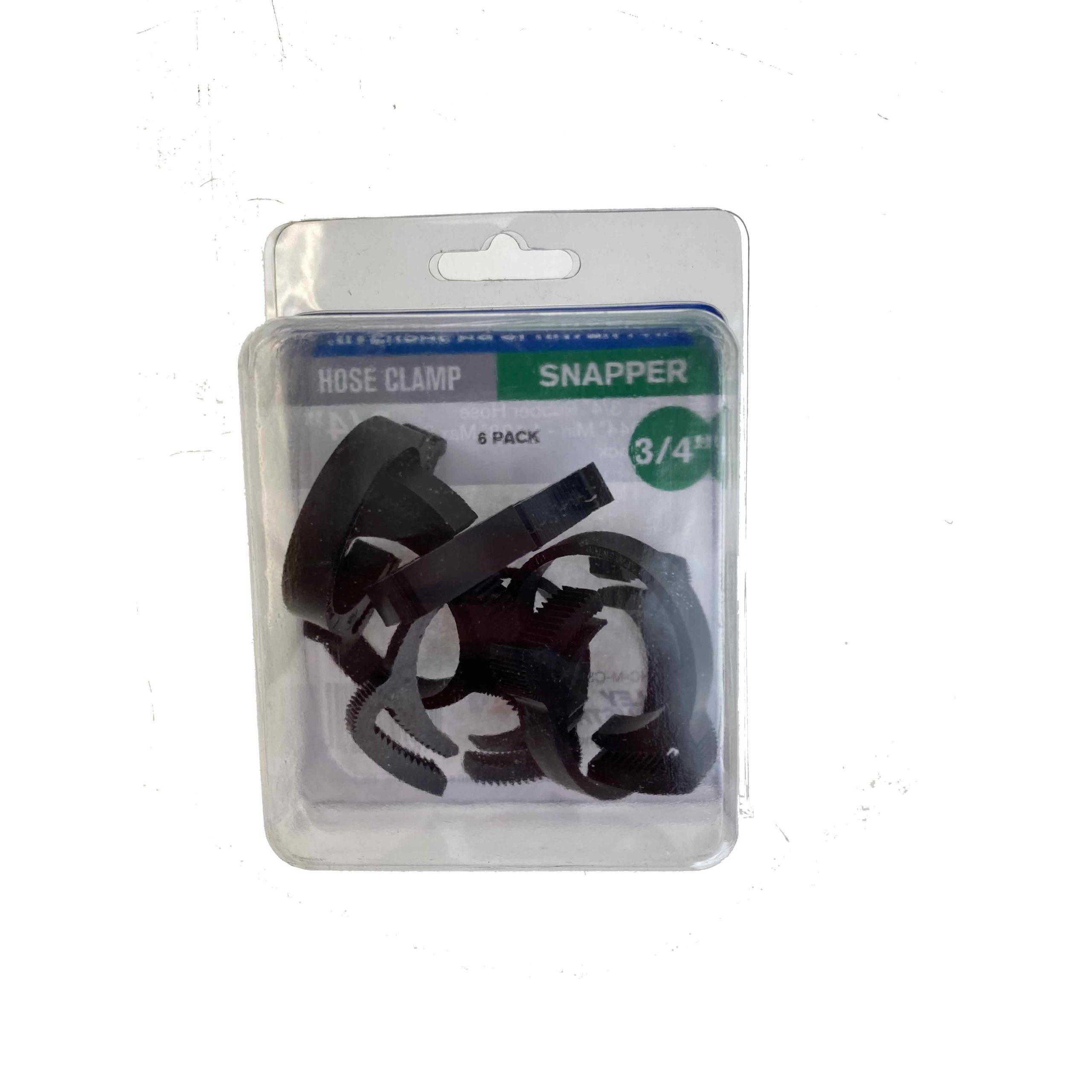 Hose Clamp Plastic Snapper 3//4